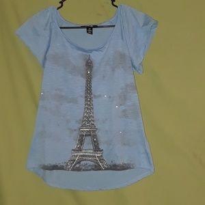 Style & Co Eiffel Tower shirt
